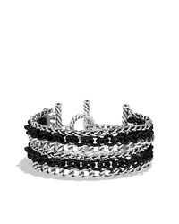 David Yurman | Metallic Six-row Chain Bracelet | Lyst