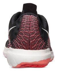 Nike - Black Women's Flex Fury Running Sneakers From Finish Line - Lyst