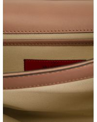 Valentino Brown Va Va Voom Shoulder Bag