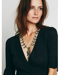 Free People | White Womens Deco Drop Pendant | Lyst