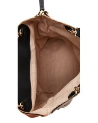 See By Chloé Orange Kim Fold Over Tote - Pink Sahara