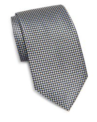 Burma Bibas | Metallic Basketweave Silk Tie for Men | Lyst