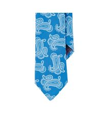 Ted Baker Blue Paisley Jacquard Necktie for men