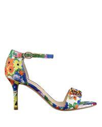 Ivanka Trump | Multicolor Gessa Embellished Open-toe Sandals | Lyst
