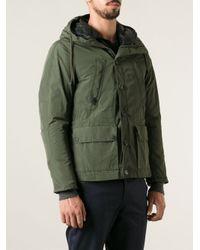 Golden Goose Deluxe Brand Green Short Style Parka for men