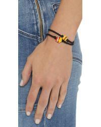 Venessa Arizaga - Burger + Fries Bracelet Set - Black - Lyst
