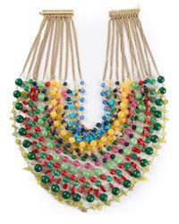 Rosantica - Multicolor Beaded Choker Necklace - Lyst