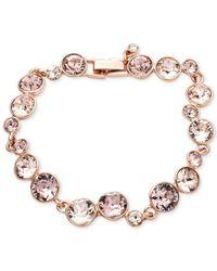 Givenchy Pink Crystal Stone Flex Bracelet