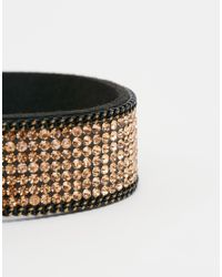 Oasis | Metallic Crystal Rock Magnetic Bracelet | Lyst