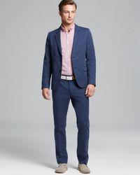 Steven Alan Blue Oliver Twobutton Sport Coat for men
