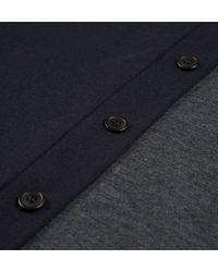 Sunspel | Blue Men's Vintage Wool Bomber Jacket for Men | Lyst