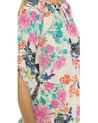 Yumi Kim Multicolor Stefee Silk Dress - Little Eden