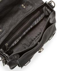 Proenza Schouler Black Ps1 Tiny Crossbody Satchel Bag