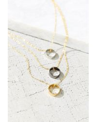 Urban Outfitters - Metallic All The In-betweens High/low Necklace - Lyst