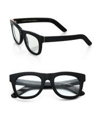 Retrosuperfuture Black Ciccio Optical Glasses for men