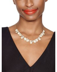 kate spade new york Natural Butter Up Mini Necklace