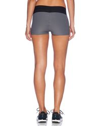 Blue Life Gray Fit Silhouette Yoga Short