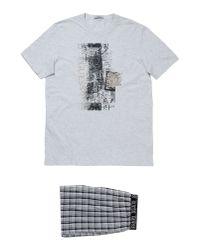 Guess - Gray Sleepwear for Men - Lyst