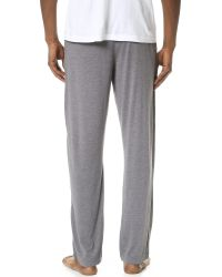 Calvin Klein | Gray Liquid Lounge Pants for Men | Lyst