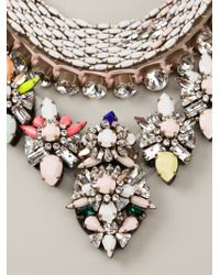 Shourouk - Multicolor 'river Cosmic' Necklace - Lyst