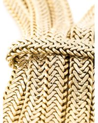 Rosantica | Metallic Multiple Chain Knot Necklace | Lyst