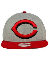 KTZ Cincinnati Reds Logo Grand 9fifty Snapback Cap for men