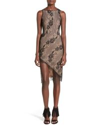 4si3nna | Black Lace Body-con Dress | Lyst