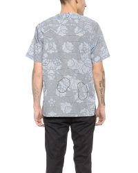 Sidian, Ersatz & Vanes | Gray Woven T-shirt for Men | Lyst