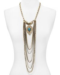 """Samantha Wills Blue Lost In Your Love Necklace, 21"""""""