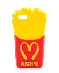 Moschino French Fries Iphone 5 5s 5c Case Redyellow