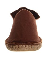 Office Brown Solemate Espadrille for men