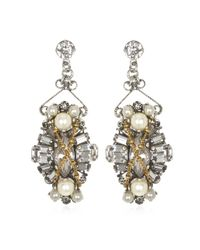 Erickson Beamon | Metallic Glenda Earrings | Lyst