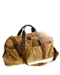 J.Crew | Natural Abingdon Weekender Bag for Men | Lyst