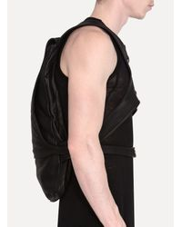 Obscur - Black Waxy Guidi Leather Backpack for Men - Lyst