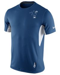 Nike Blue Men's Indianapolis Colts Vapor T-shirt for men