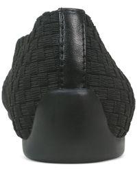 Tahari | Black Kiri Sport Pointed Toe Flats | Lyst