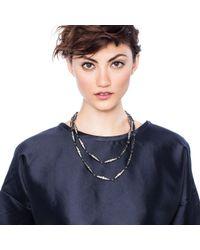 Lulu Frost - Metallic Larkspur Long Necklace - Lyst