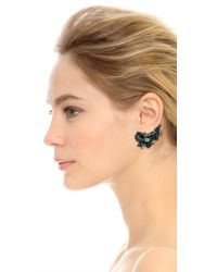 Erickson Beamon | Crystal Ear Crawler - Black | Lyst