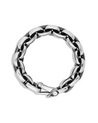 David Yurman | Metallic Oval Link Chain Bracelet for Men | Lyst