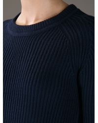 Étoile Isabel Marant Blue Roundnecked Sweater