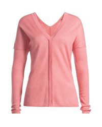 Vince - Pink Wool Pullover - Rose - Lyst