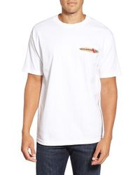 Reyn Spooner | White 'hawaiian Christmas' Graphic T-shirt for Men | Lyst