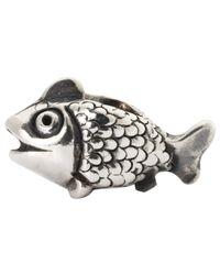 Trollbeads Metallic Jewel Fairy Basslet Sterling Silver Charm