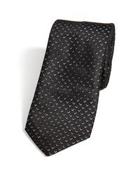 HUGO - Black Laser Cut Tie - Multicolor for Men - Lyst
