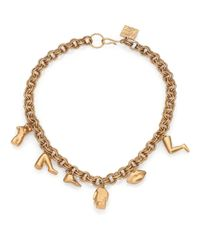 Kelly Wearstler | Metallic Dichotomy Charm Necklace | Lyst