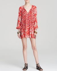 Free People Red Dress - Lucky Loosey