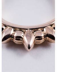 Pamela Love | Pink 'Thin Tribal Spike' Ring | Lyst