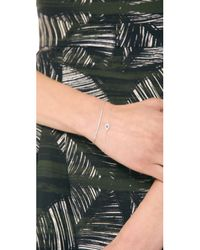 Tai - Metallic Arc Bracelet Silver - Lyst