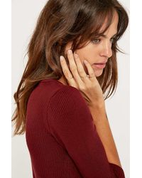Urban Outfitters - Metallic Pretty Open Ring Pack - Lyst