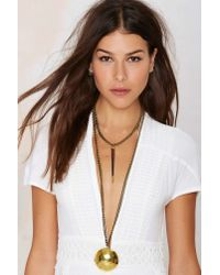 Lena Bernard | Metallic Beat It Chain Necklace | Lyst